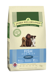 James Wellbeloved Puppy Fish and Rice 2Kg