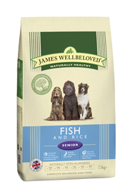 James Wellbeloved Senior Ocean Fish 2Kg