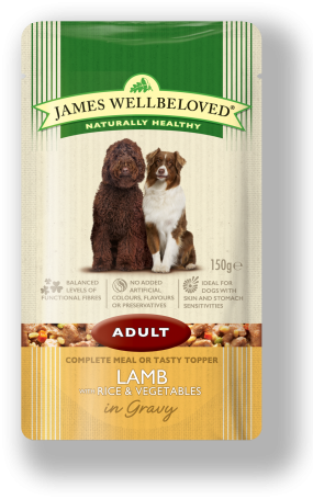 james wellbeloved adult pouch