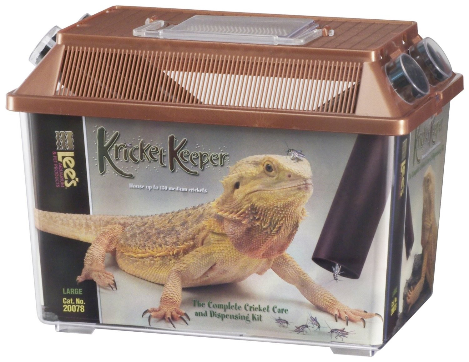 Lees Kricket Reptile Food Keeper - Large