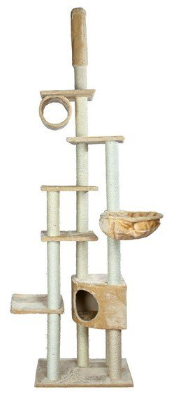 Madrid Multi Level Cat Furniture With Sisal Posts