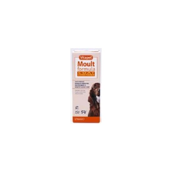 Vetzyme Moult Formula and Coat Conditioner 450ml