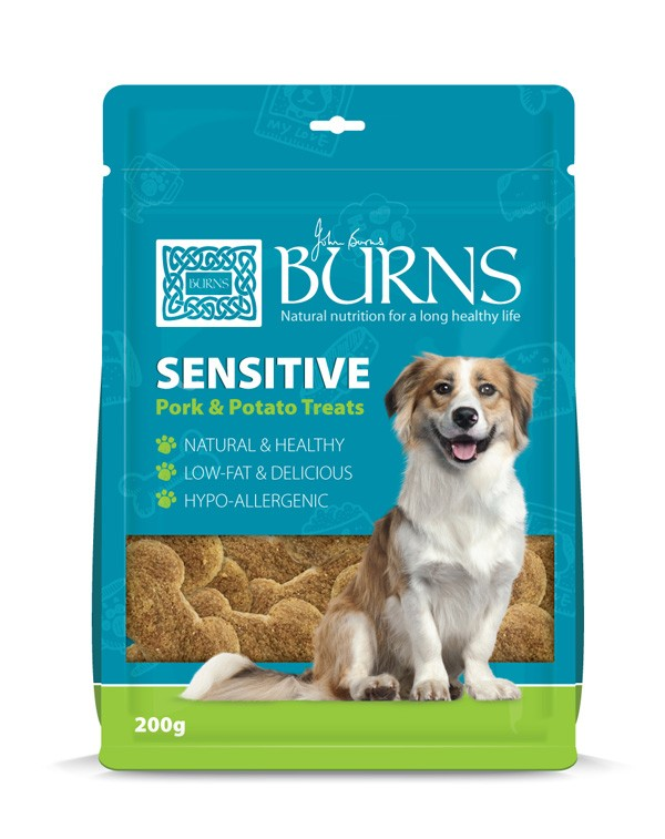 Burns Hypo-allergenic Sensitive Pork & Potato Treats