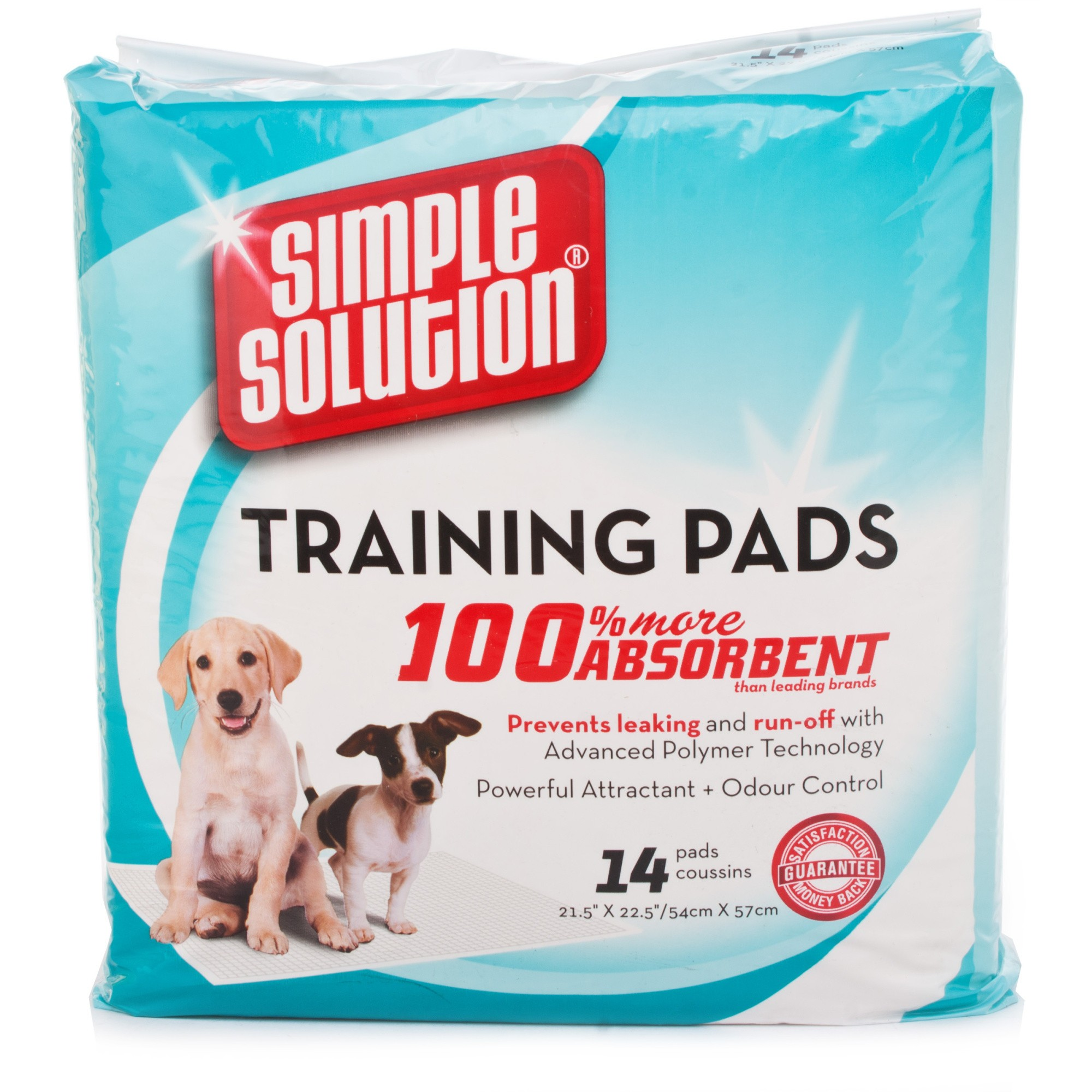Simple Solution Puppy Training Pads 14 Pack