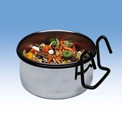 Ferplast Sirio Feeder Medium Stainless Steel Bowl L302