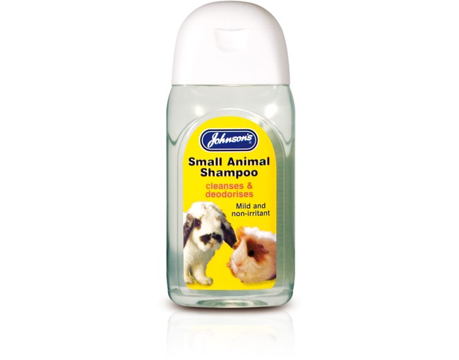 Johnsons Small Animal Shampoo 125ml
