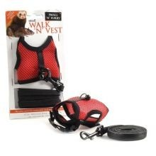 Walk 'N' Vest Comfort Rat Harness & Lead Small