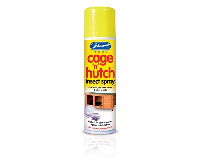 Johnsons Cage n Hutch Insect Spray