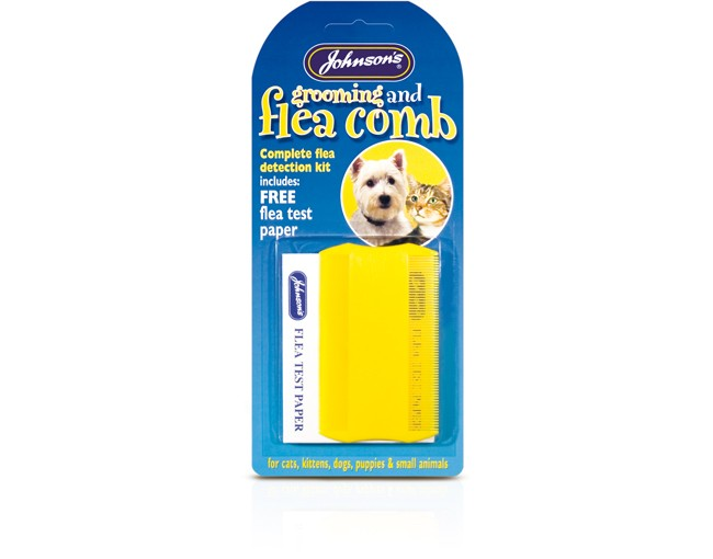 Johnsons Flea Comb For Cats and Dogs