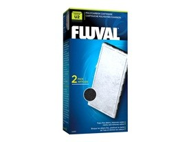 Fluval U2 Poly/Carbon Cartridge 2 Pack