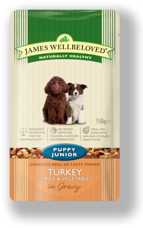 james wellbeloved puppy pouch