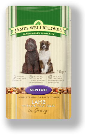 james wellbeloved senior pouch
