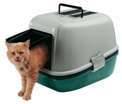 Ferplast Magix Hooded Cat Litter Tray