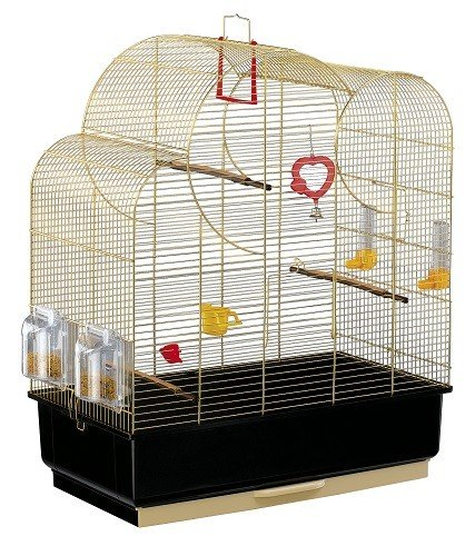 Ferplast Nuvola Brass Bird Cage & Accessories
