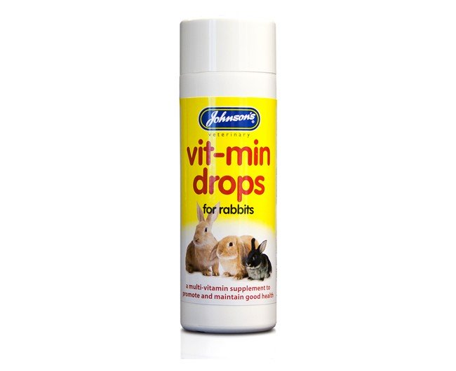 Johnsons Vitamin Drops For Rabbits & Guinea Pigs