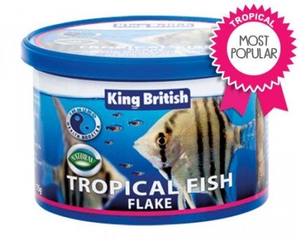 king british tropical flake food